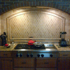 Traditional Kitchen by Jonathan's Tile and Construction Services
