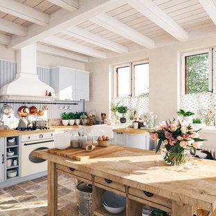 Idee per una cucina stile shabby