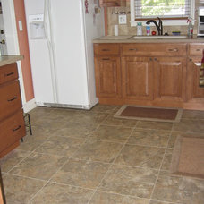 Traditional Kitchen by McKean's Floor to Ceiling