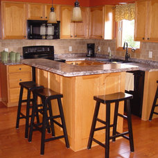 Traditional Kitchen by Todd Construction