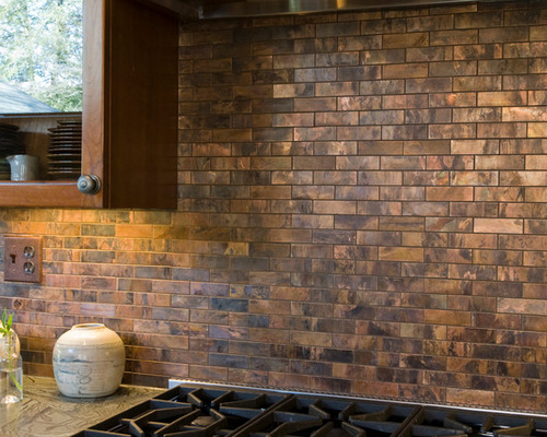Https Www Houzz Com Copper Tile Backsplash