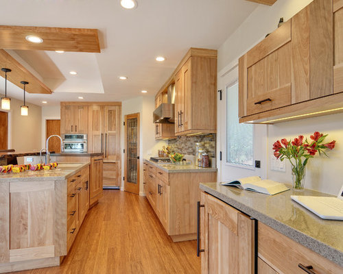 red birch kitchen cabinets birch kitchens ideas pictures remodel and decor 4548
