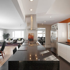 Contemporary Kitchen kitchen reno in mid century home
