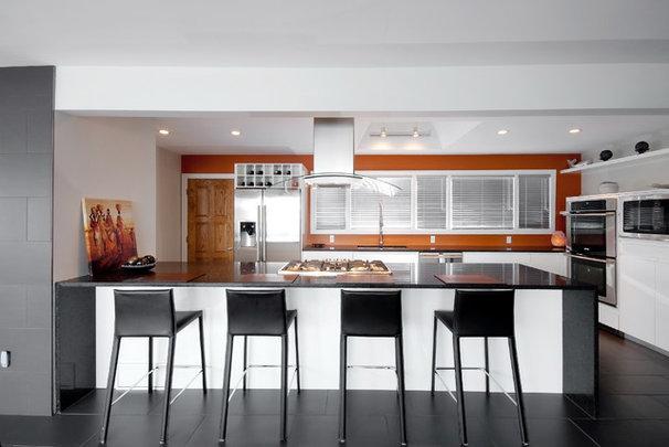 Contemporary Kitchen kitchen reno in mid century home