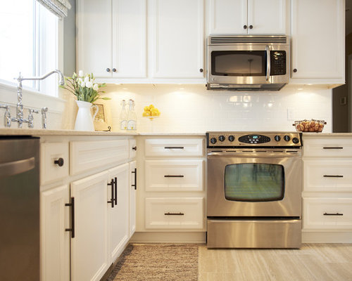 Painted Kitchen Cabinets Home Design Ideas, Pictures, Remodel and Decor