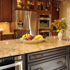 mediterranean kitchen by KW Cowles Design Center, LLC