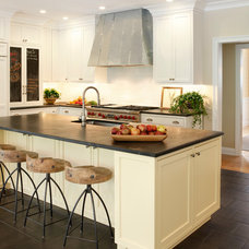 Transitional Kitchen by AJ Margulis Interiors