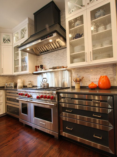 range backsplash | houzz