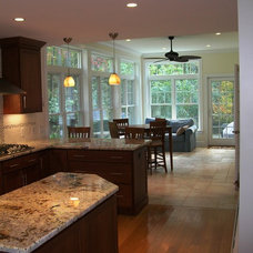Traditional Kitchen by Clarke Associates LLC