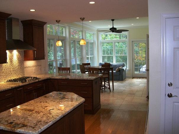 Traditional Kitchen by Clarke Associates LLC