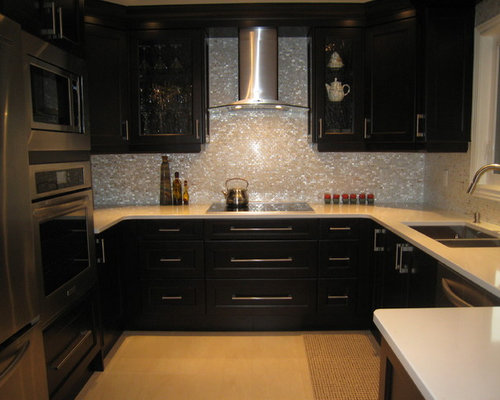 mother of pearl backsplash home design ideas pictures
