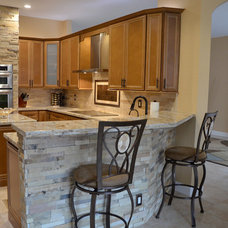 Eclectic Kitchen by KabCo Kitchens