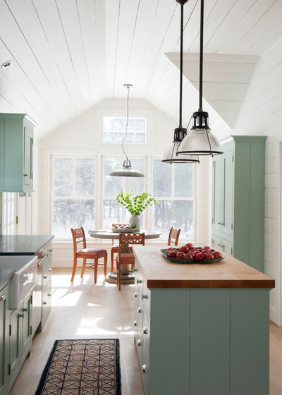 Farmhouse Kitchen by Hendricks Churchill