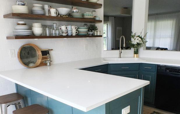 Kitchen by Lyndsye Felsman // By Design Podcast