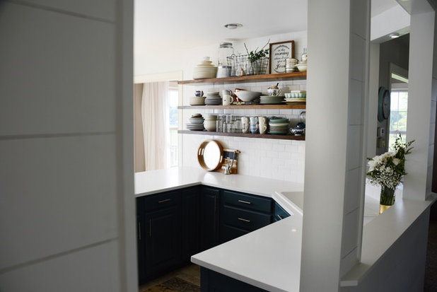 Kitchen by Lyndsye Felsman // By Design Podcast