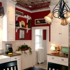 traditional kitchen by Colorful Living Interiors by Luella