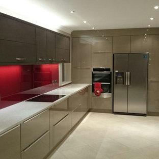 75 Most Popular Ireland Kitchen With Red Splashback Design Ideas For
