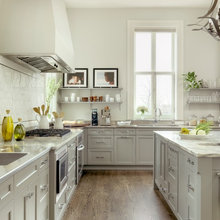 Painted Cabinets - Gray