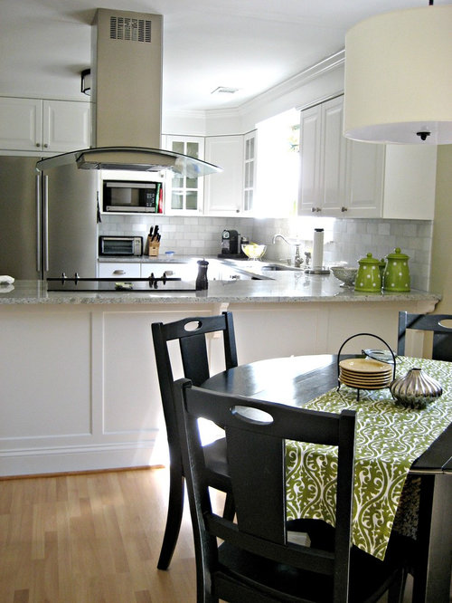 Cook Top Peninsula Home Design Ideas, Pictures, Remodel and Decor