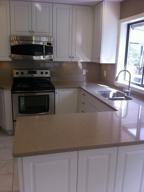 Laminate Countertops Company : ... Design Photos with Glass Tiled Splashback and Laminate Countertops