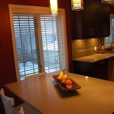 Contemporary Kitchen by The Design Studio Inc.