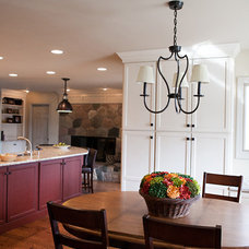 Eclectic Kitchen by Kastler Construction