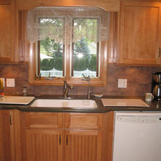 Traditional Kitchen by Kirby Mast of Hartville Hardware