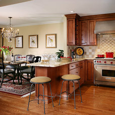 Traditional Kitchen by Maureen Fiori, AKBD, Allied Member ASID, CAPS