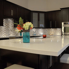 modern kitchen countertops by KabCo Kitchens