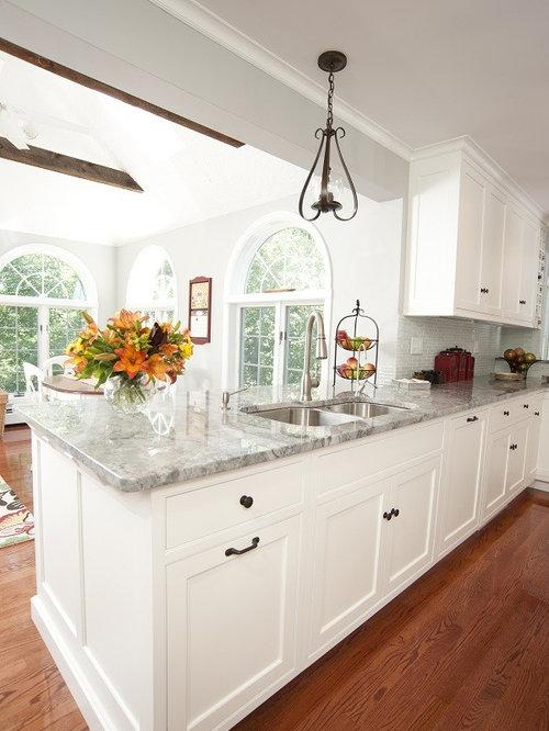 granite countertop white cabinets white and gray granite houzz