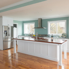 Beach Style Kitchen by The Cabinetry