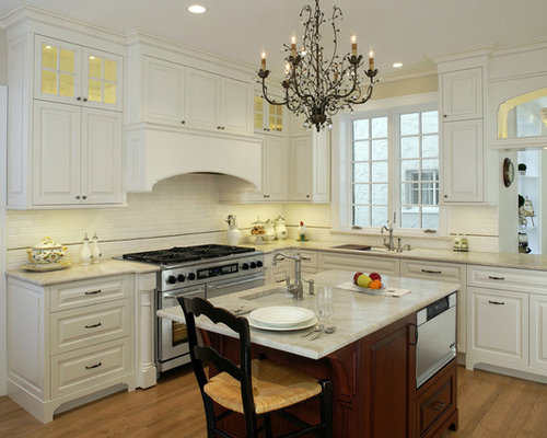 traditional white kitchen | houzz