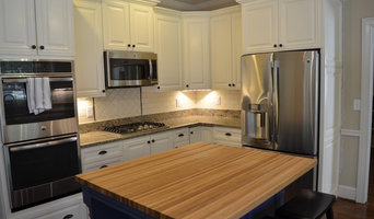 Kitchen renovation with custom built Island