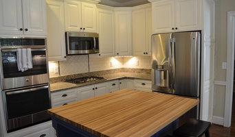Kitchen renovation with custom built Island