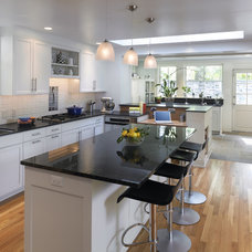 Contemporary Kitchen by Krieger + Associates Architects Inc