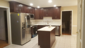 Kitchen Renovation with Soffit Removal