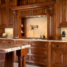 Rustic Kitchen by USI Design & Remodeling