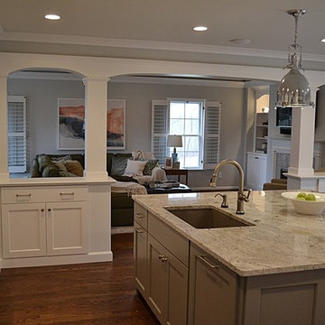 Kitchen Renovations & Patio Addition in Brentwood, MO