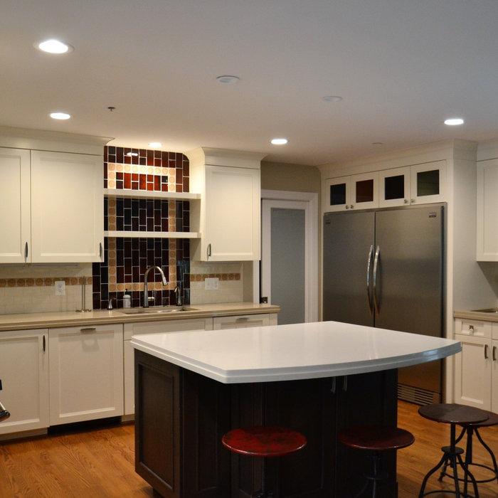 White Shaker Kitchen Renovation | Arnold, MD