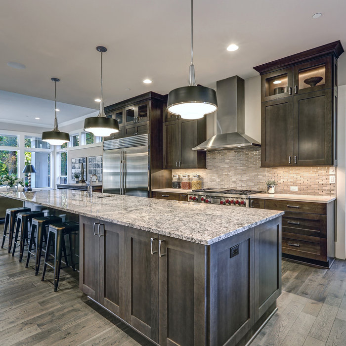 Transitional Entertaining Kitchen | Annapolis, MD