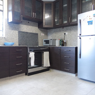 75 Most Popular Kenya Kitchen With A Double Bowl Sink Design Ideas