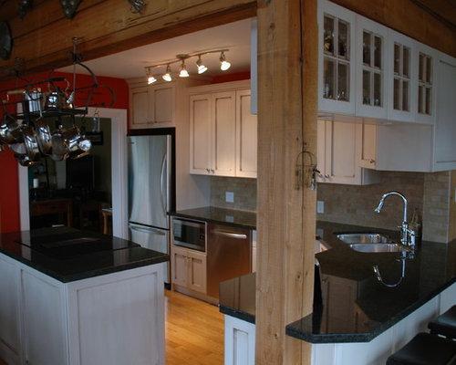 White Shaker Kitchen Design Ideas Renovations Photos With