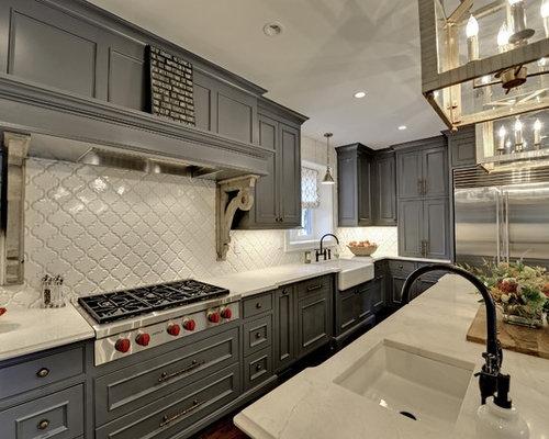 lantern tile backsplash home design ideas pictures remodel and decor