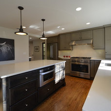 Traditional Kitchen by D.E. Jacobs Associates, Inc.