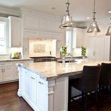 Transitional Kitchen by Ridgewater Homes Inc