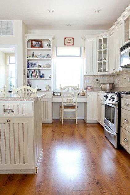 Beach Style Kitchen by Rikki Snyder