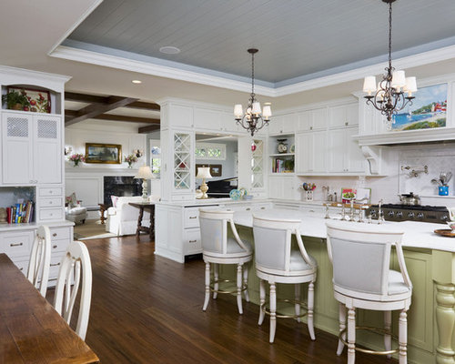 Tray ceiling home design ideas pictures remodel and decor - Ceiling paint color ideas ...