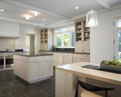 lovely whitewashed oak kitchen cabinets | Whitewashed Cabinets | Houzz