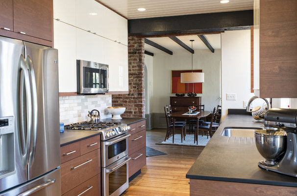 Contemporary Kitchen by Rock Paper Hammer