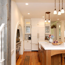 rustic kitchen by AMI Designs